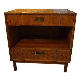 Mid Century Modern John Widdicomb Nightstand For Sale