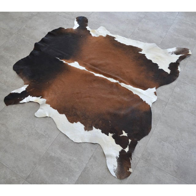 """This is natural cow hide rug from Turkey. For wear please check last photo No cow smell maximum width : 51"""" maximum width..."""
