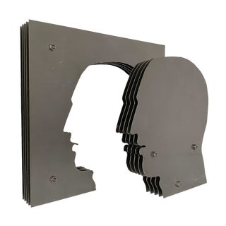 """Yorgos Kypris """"The Gate of Knowledge"""" Sculpture For Sale"""