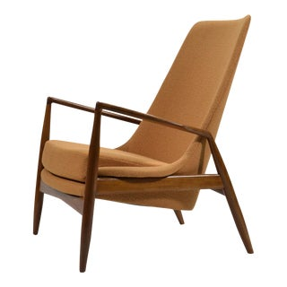 Ib Kofod-Larsen High Back Seal Chair For Sale