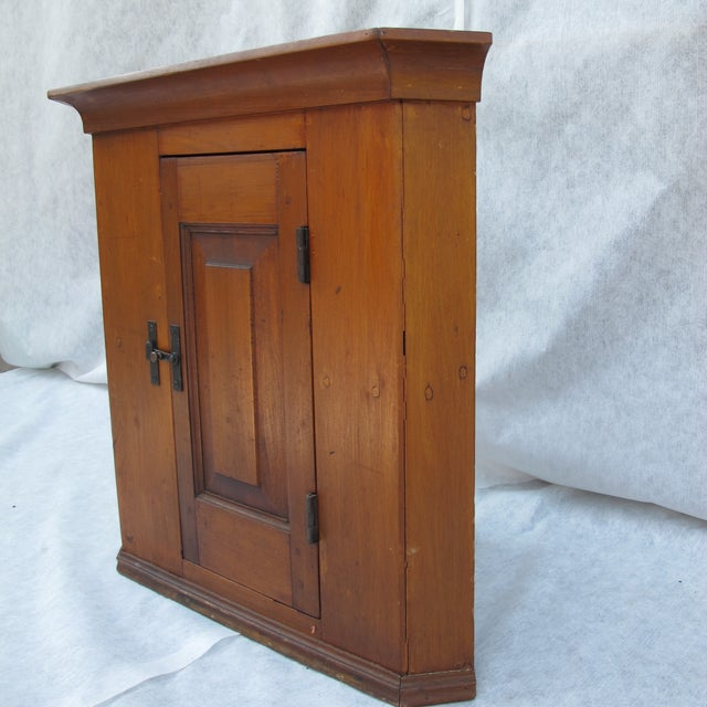 Cherry Wood Corner Cupboard - Image 4 of 11