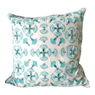 Kim Seybert Large Jeweled Embroidered Pillow