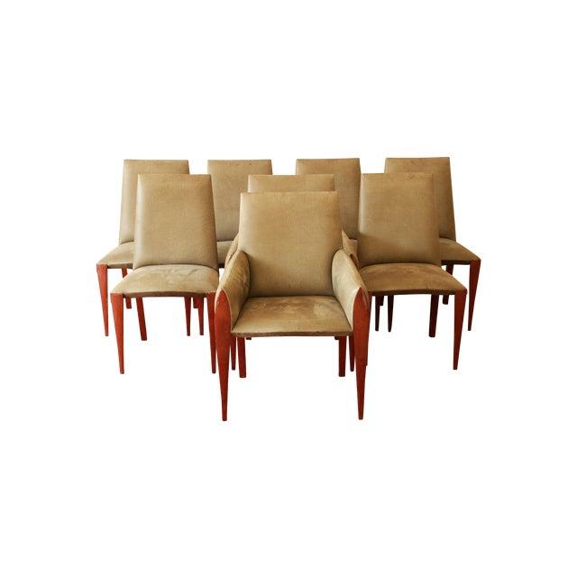 Dakota Jackson Ke-Zu Dining Chairs - Set of 8 - Image 1 of 10