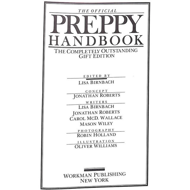 Red The Official Preppy Handbook - The Completely Outstanding Gift Edition For Sale - Image 8 of 11