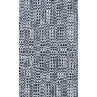 "Erin Gates Newton Davis Navy Hand Woven Recycled Plastic Area Rug 5' X 7'6"" For Sale"