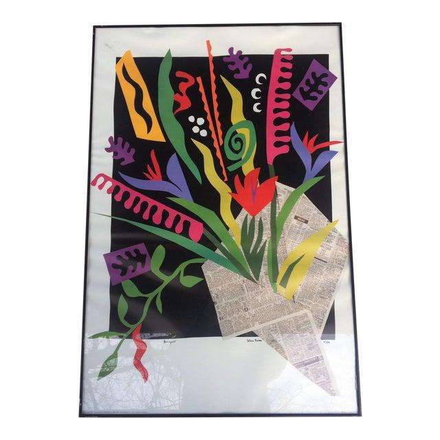 """Alex Boies Signed """"Bouquet"""" Offset Lithograph For Sale"""