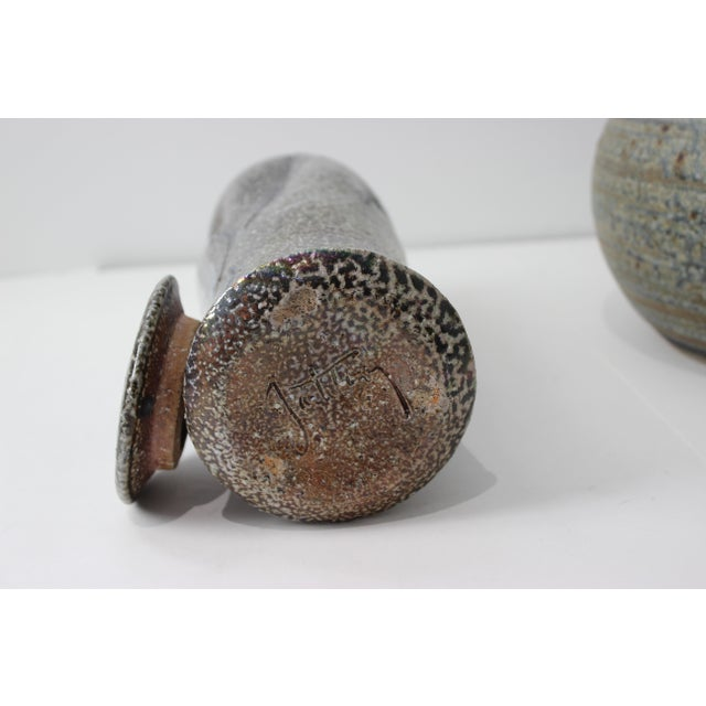 Mid-Century Modern Artisan Pottery Glazed Objects For Sale In West Palm - Image 6 of 13