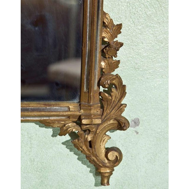 French Rococo-Style Giltwood Mirror - Image 5 of 5
