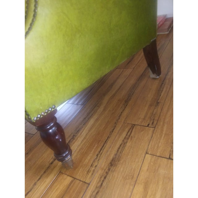 English George Smith Green Club Chair For Sale - Image 3 of 12