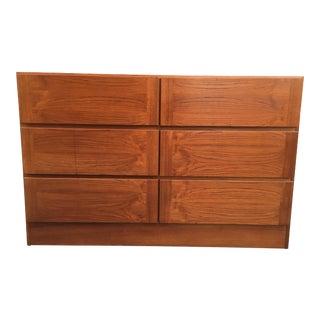 Vintage Arne Iversen for Vinde Danish Modern Teak 6-Drawer Dresser