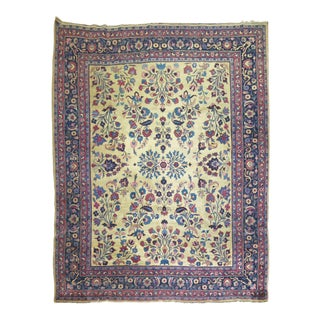 Vintage Persian Rug, 7'9'' X 10'7'' For Sale