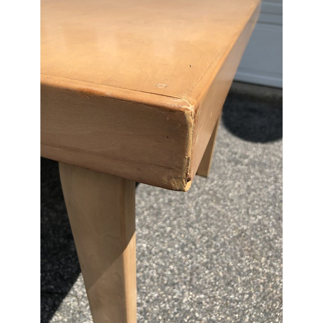 Mid Century 1940s Finnish Birch Extention Dining Table by Alvar Aalto for Artek For Sale - Image 12 of 13