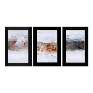 Triptych Modern Abstract Art Paintings - Set of 3