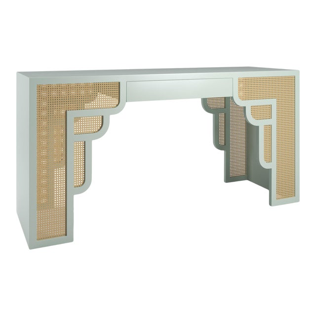 Habanera Console Table - Turquoise Mist For Sale
