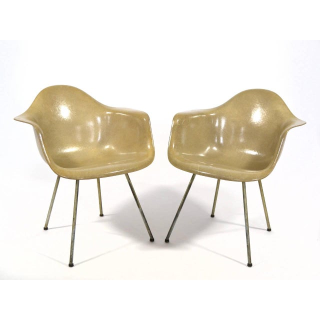 Pair of Eames SAX Armchairs by Zenith Plastics for Herman Miller - Image 4 of 11