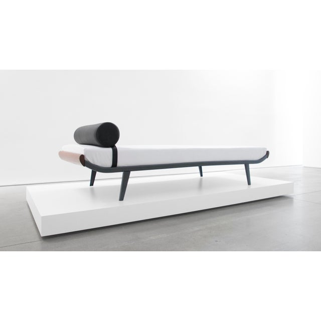 "Animal Skin A. R. Cordemeijer, ""Cleopatra"" Daybed for Auping, C. 1960 - 1969 For Sale - Image 7 of 7"