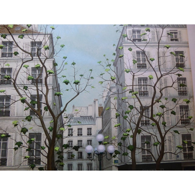 Vintage French Galerie Roussard Lithograph - Image 3 of 5