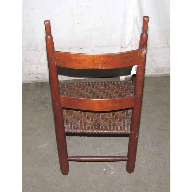 Antique American Cherry Chair For Sale - Image 4 of 6