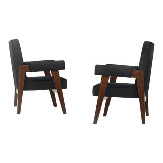 """""""Advocate & Press"""" Bridge Style Lounge Chairs - A Pair For Sale"""