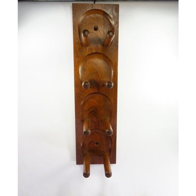 Mid Century Modern Teak Wood Wine Racks - A Pair - Image 6 of 6