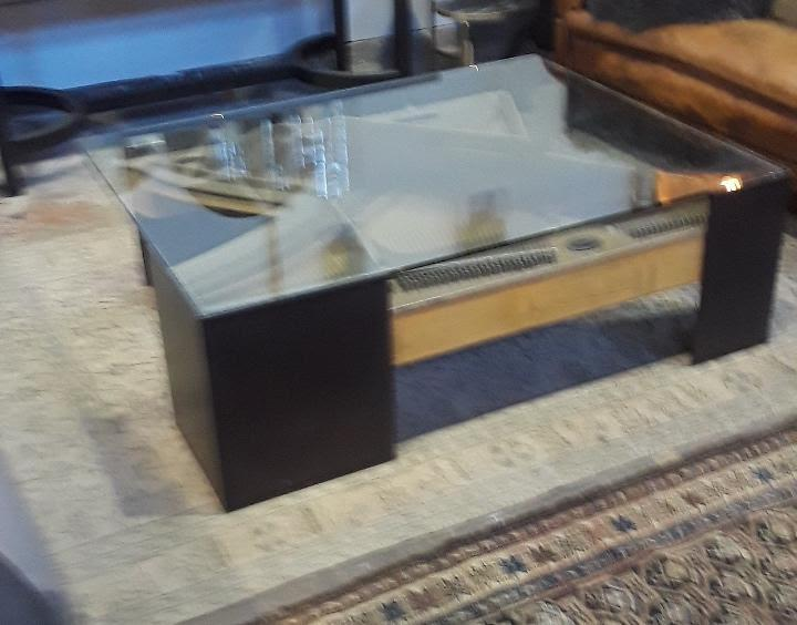 Contemporary Up Cycled Piano Coffee Table   Image 2 Of 12