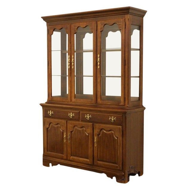 "Thomasville Furniture Winston Court Collection 56"" China Cabinet For Sale"