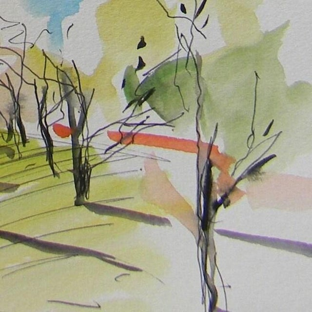 Up for sale: A one-of-a-kind watercolor painting by impressionist artist Jose Trujillo. Measurements: 6 x 9 inches Medium:...