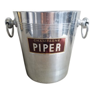 Piper French Champagne Ice Bucket For Sale