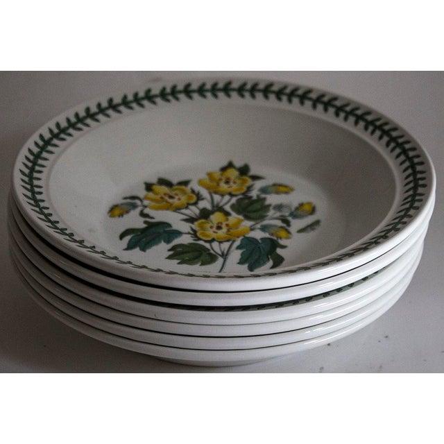 Set of 6 Portmeirion Botanic Garden Soup Bowls - Image 9 of 10