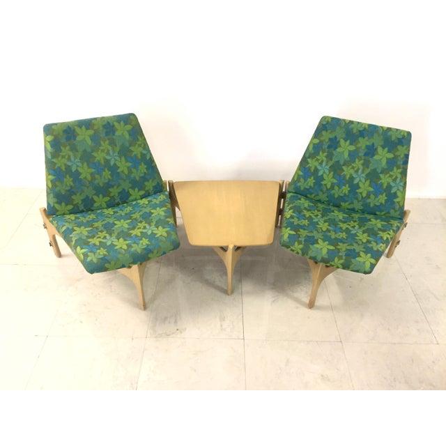 Mid-Century Modern John Caldwell Brown Saltman Seating Arrangement For Sale - Image 3 of 8