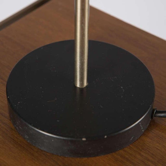 Gray Table Lamp by Tito Agnoli for O-Luce For Sale - Image 8 of 10