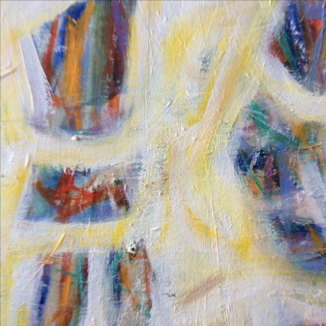 Contemporary Painting - Yellow Man - Image 3 of 3
