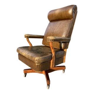 "Gunlocke Model ""Washington"" Oval Office Executive Chair For Sale"