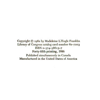 """1986 """"Signed Edition, a Wrinkle in Time"""" Collectible Book Preview"""