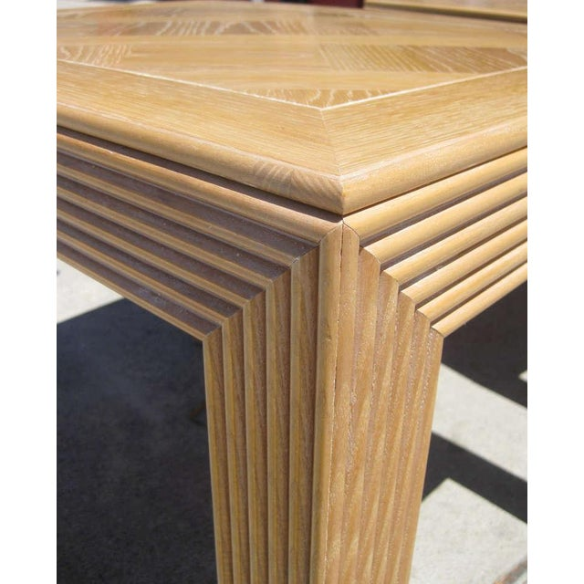 Parquet Top Sides Tables by Lane - Pair - Image 6 of 6