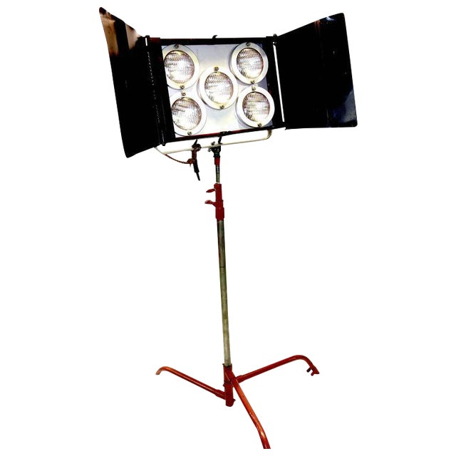 Circa Mid-Century Hollywood Studio Molefay 5-Light Lamp on Stand As Sculpture For Sale