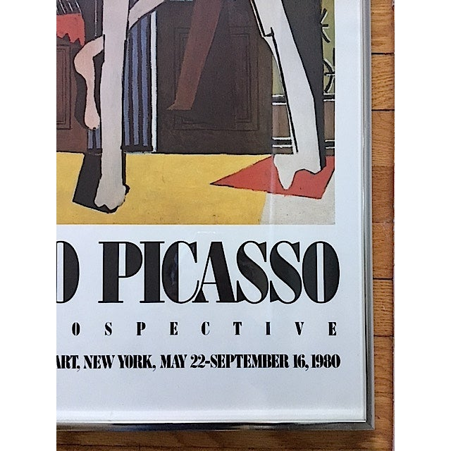 Vintage Picasso Exhibition Poster - Three Dancers - Image 4 of 6