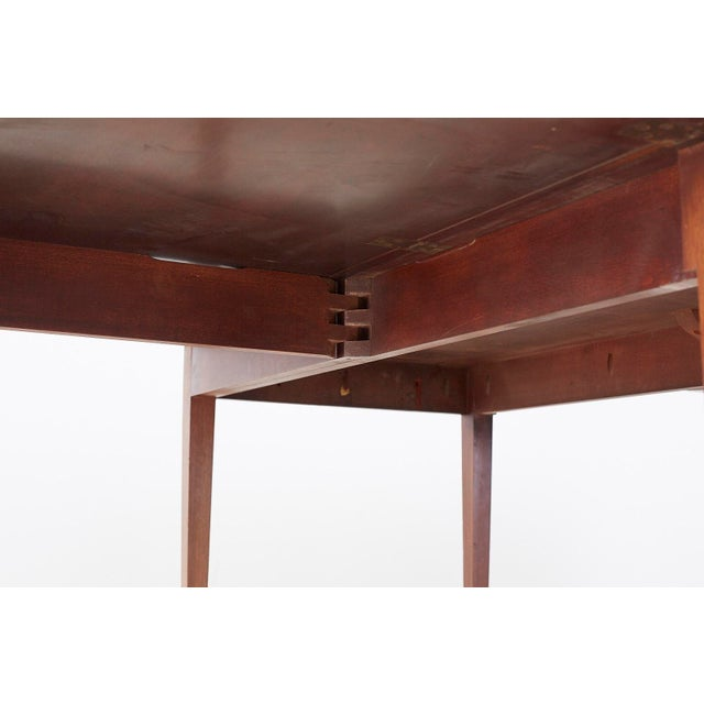 Metal American Hepplewhite Style Mahogany Banquet Dining Table For Sale - Image 7 of 13