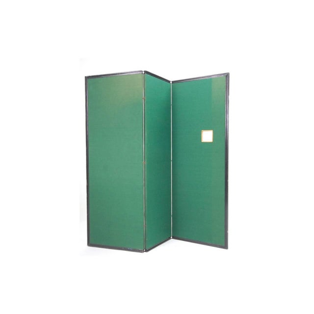 Brass Andy Warhol S&h Green Stamps Folding Screen For Sale - Image 7 of 12