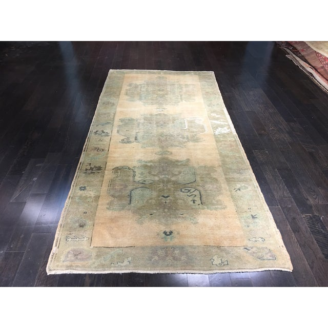 Turkish Oushak Rug - 5′ × 10′4″ - Image 2 of 8