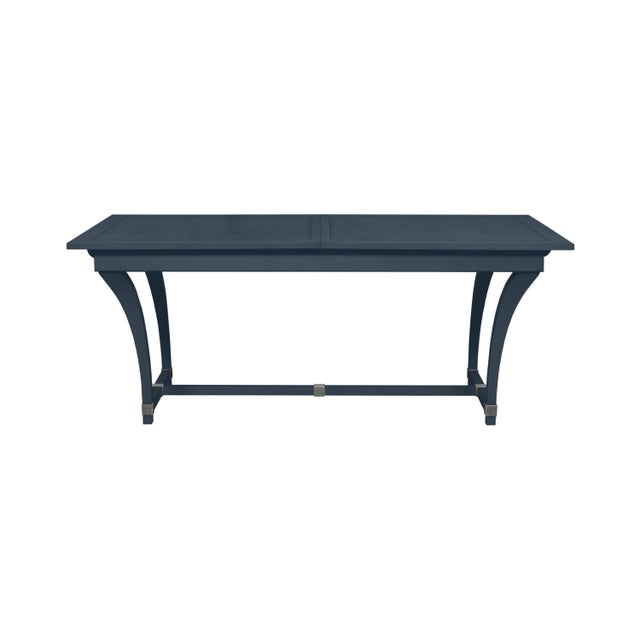 Traditional Casa Cosima Living Rhodes Dining Table - Hale Navy For Sale - Image 3 of 3