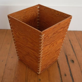 Rope and Wood Waste Basket, 1950s Preview