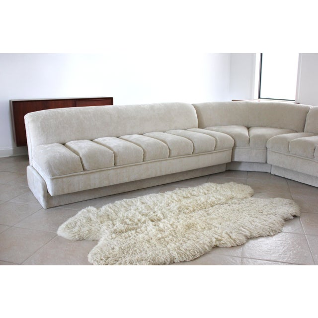 Vladimir Kagan Attributed Directional Sectional Sofa For Sale - Image 11 of 13