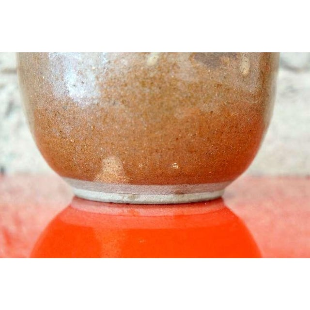 Mid-Century Modern Mid 19th Century Vintage Sake Flask For Sale - Image 3 of 9