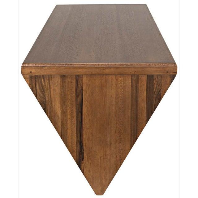 Noir Tetramo Desk, Dark Walnut For Sale - Image 4 of 13