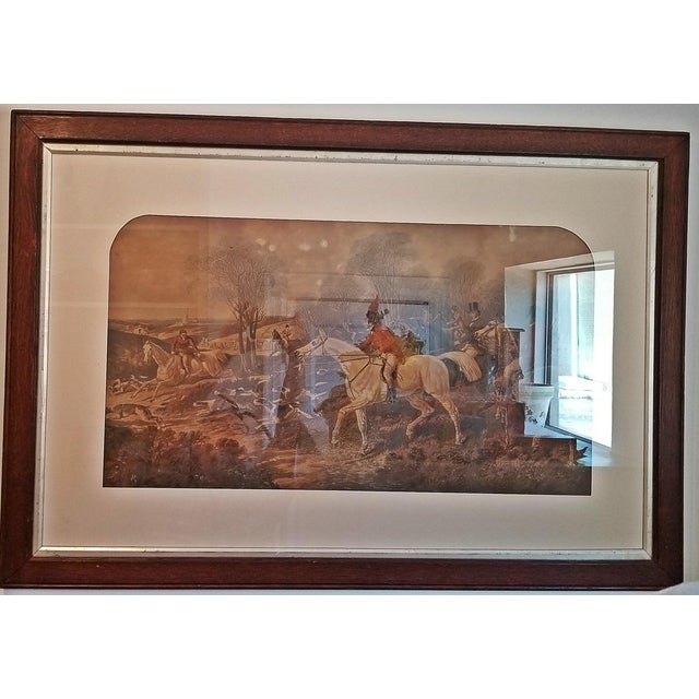 19c Set of 4 Original Engravings of Hunting Scenes by John Frederick Herring Snr - Image 9 of 11