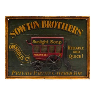 19th Century English Trade Sign For Sale