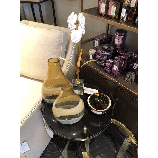 Blown Glass Vases - a Pair For Sale - Image 10 of 11