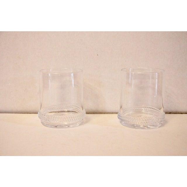 "Contemporary Juliska ""Dean"" Rocks Glasses - a Pair For Sale - Image 3 of 3"