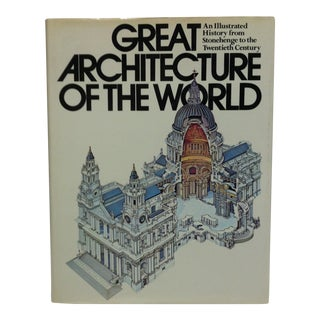 "Coffee Table Display Book ""Great Architecture of the World"", 1979 For Sale"